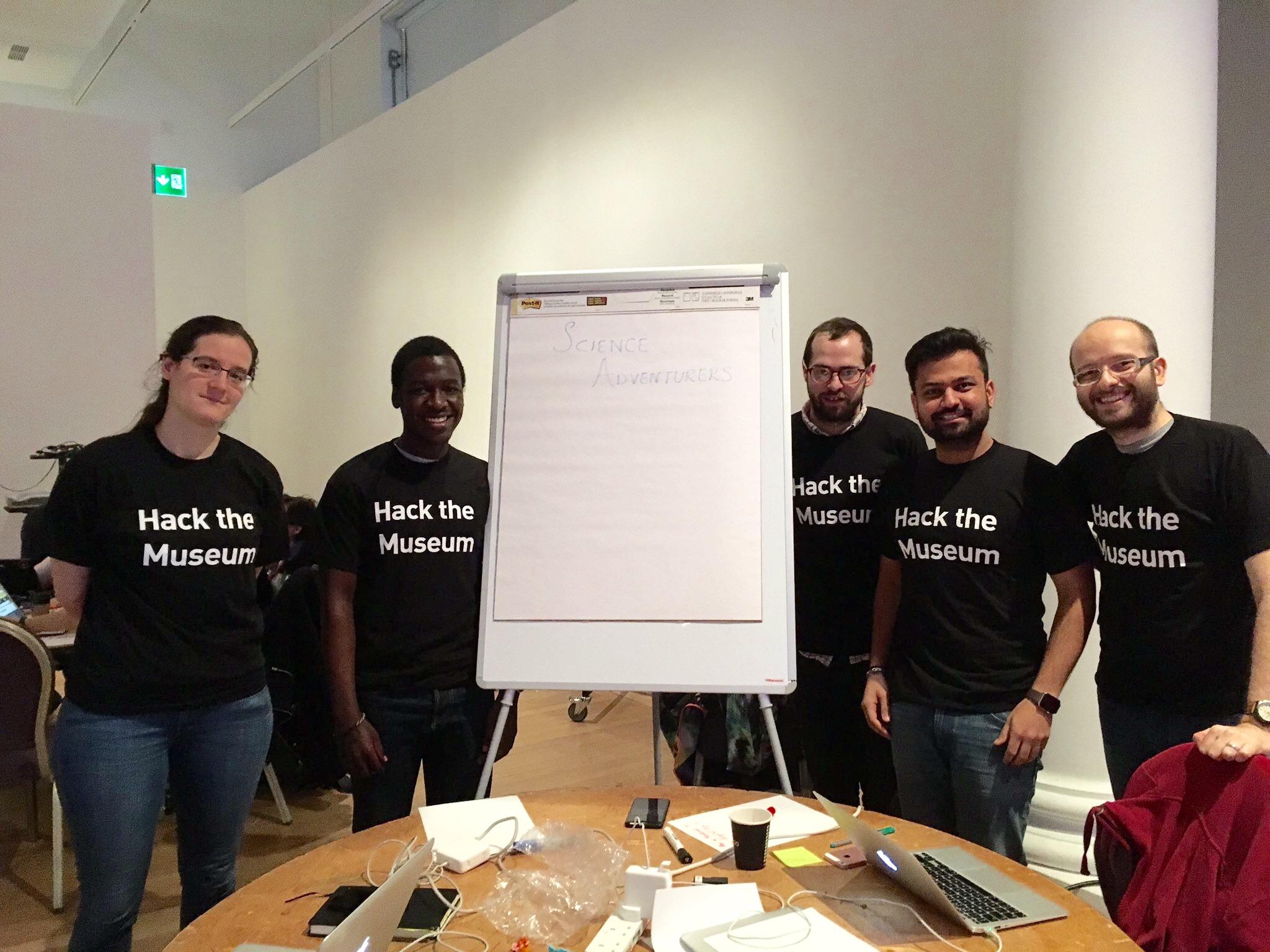 Science Musuem Hackathon